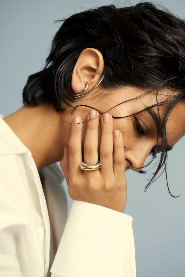 Tusk Earring
