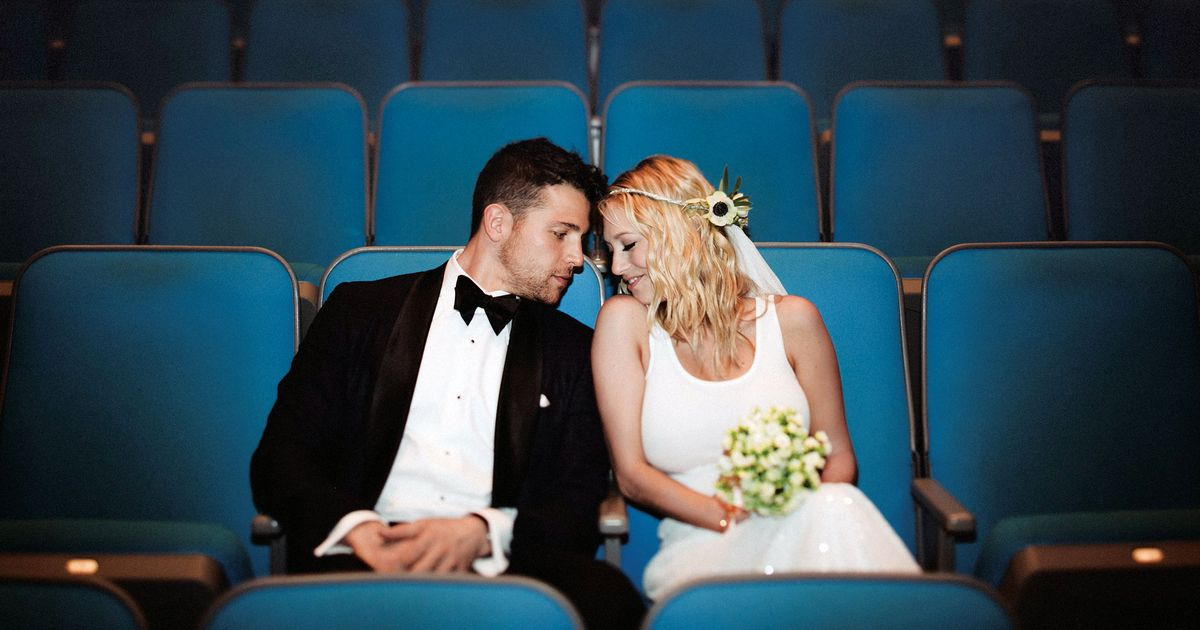 Nymag Real Weddings: Real Wedding Album: A Cinematic Event At The Museum Of The