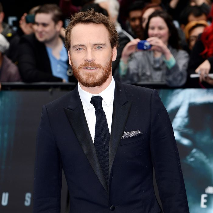 Actor Michael Fassbender attends the world premiere of