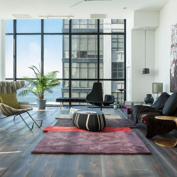 The result of architect Winka Dubbeldam's gut job on her already-renovated conversion of a 1928 former warehouse.