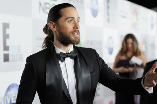 BEVERLY HILLS, CA - JANUARY 12:  Musician Jared Leto attends the Universal, NBC, Focus Features, E! sponsored by Chrysler viewing and after party at The Beverly Hilton Hotel on January 12, 2014 in Beverly Hills, California.  (Photo by Angela Weiss/Getty Images for NBCUniversal)
