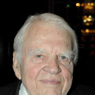 NEW YORK - OCTOBER 21: Writer, humorist and television personality Andy Rooney attends the 18th Annual Broadcasting & Cable Hall of Fame Awards at the Waldorf Astoria Basildon Room on October 21, 2008 in New York City.  (Photo by Joe Corrigan/Getty Images) *** Local Caption *** Andy Rooney