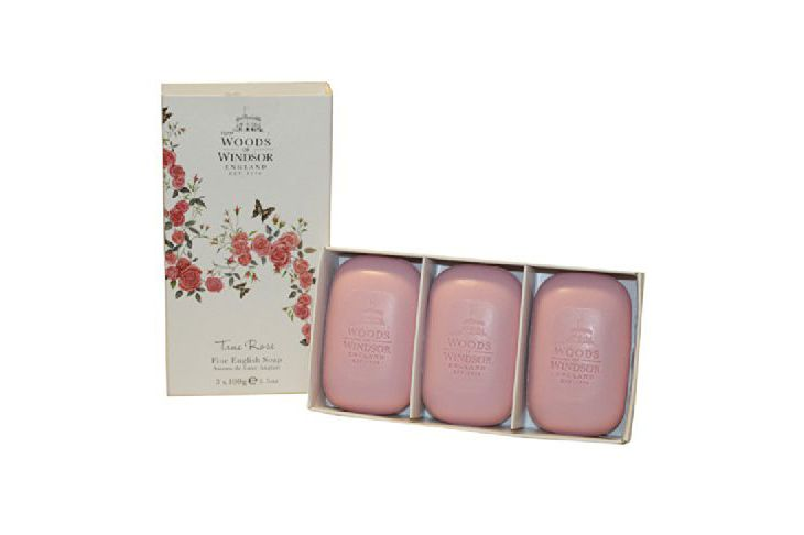 Woods of Windsor True Rose Fine English Soap for Women