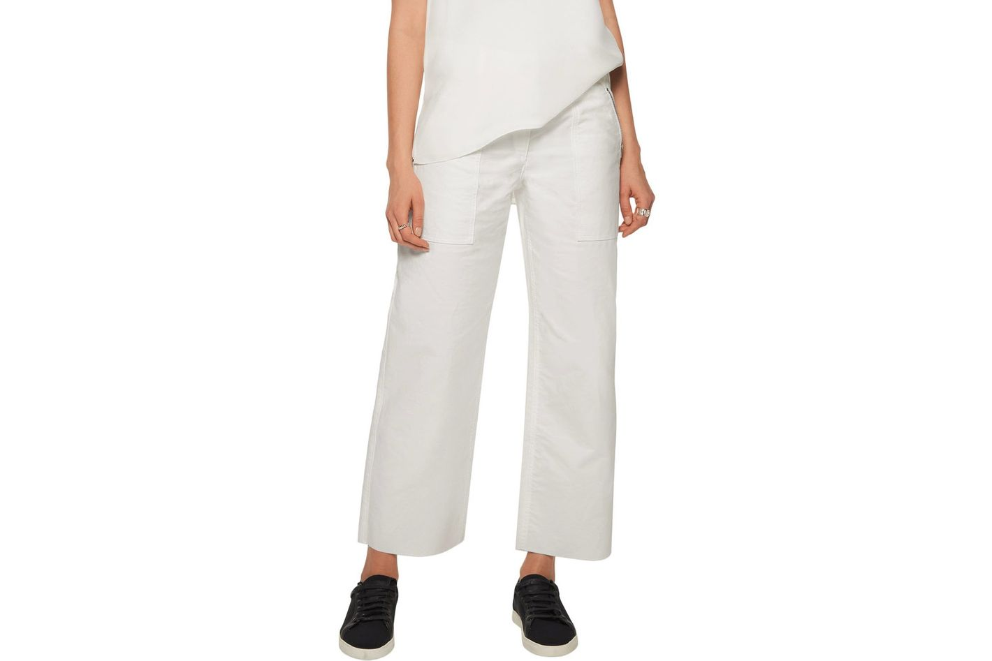 Rag & Bone Grace Cropped Wide-Leg Pants
