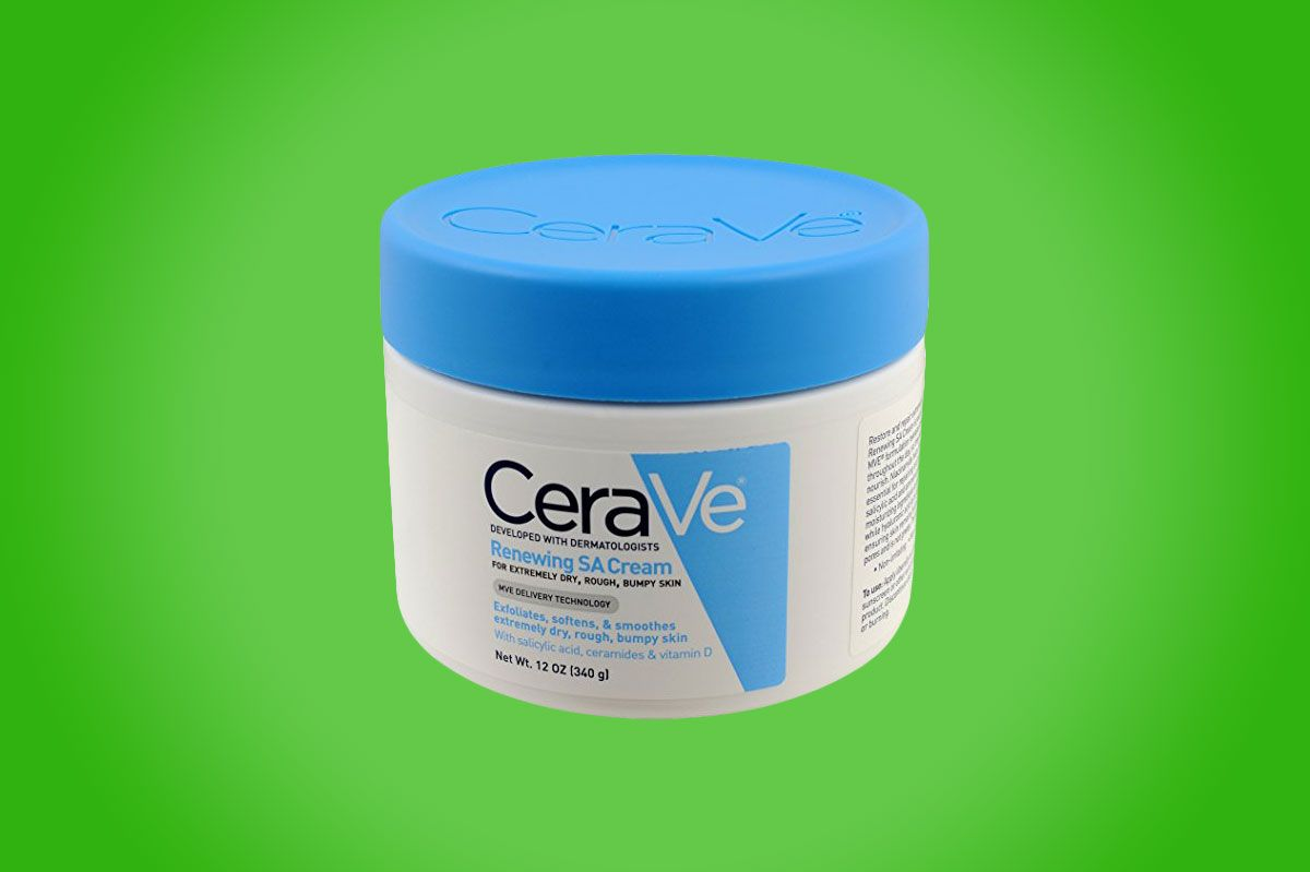 cerave renewing system sa renewing cream - strategist best skin care products and best foot cream