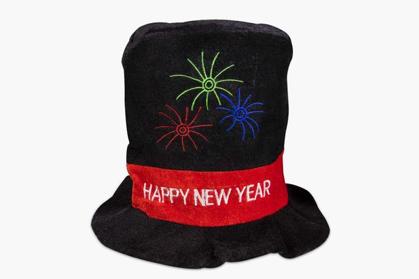 Windy City Novelties Happy New Year Party Top Hat