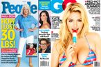 Kate Upton and Paula Deen Square Off on America's Newsstands