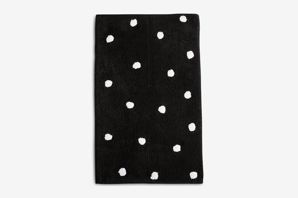 Kate Spade Deco Dot Cotton Bath Rug