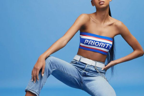 Forever 21 USPS Priority Tube Top