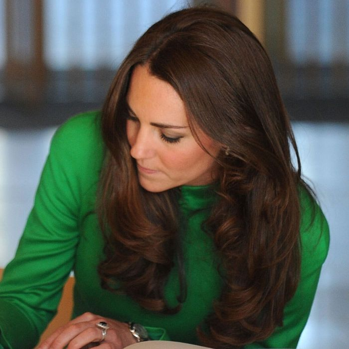 Kate Middleton, planning out her content.