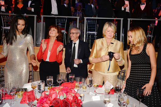 Padma Lakshmi, Susan Sarandon, Jess Cagle, Martha Stewart, Kate Greer== TIME 100 Gala, TIME's 100 Most Influential People in the World== Jazz at Lincoln Center, NYC.== April 29, 2014== ?Patrick McMullan== Photo - Patrick McMullan/PatrickMcMullan.com== ==