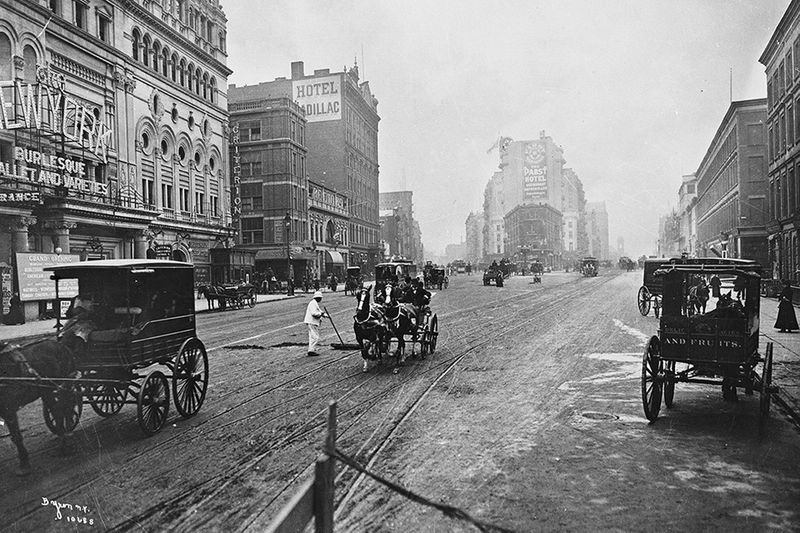 An Interactive History of 42nd St.'s Dramatic Transformation