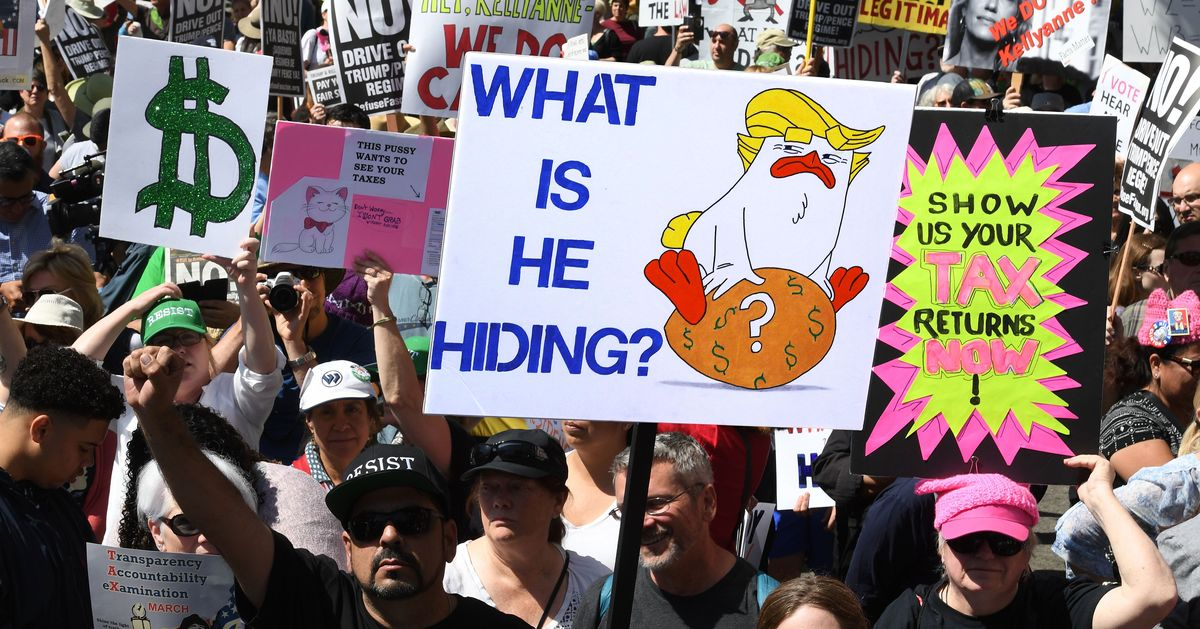 Manhattan DA Subpoenas 8 Years of Trump Tax Returns
