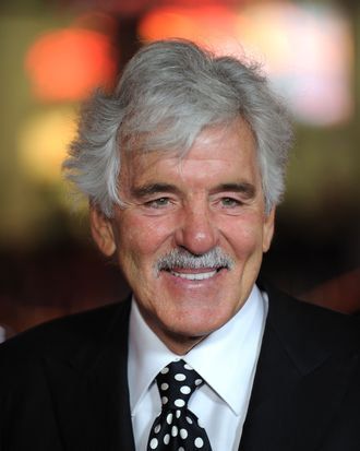 Actor Dennis Farina arrvies at the premiere of HBO's