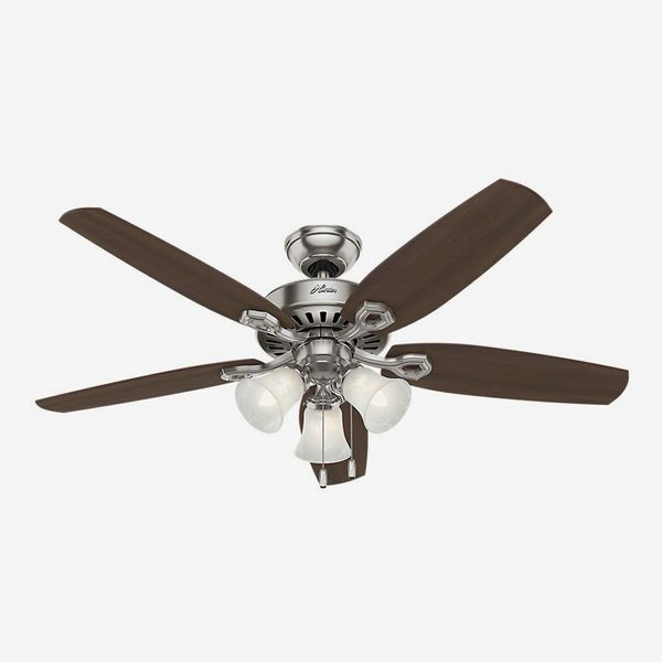 Hunter Fans Ceiling Fan with Brazilian Cherry/Harvest Mahogany Blades