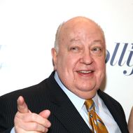 Roger Ailes==THE HOLLYWOOD REPORTER Celebrates The 35 Most Powerful People in Media==The Four Seasons Restaurant, NYC==April 11, 2012.