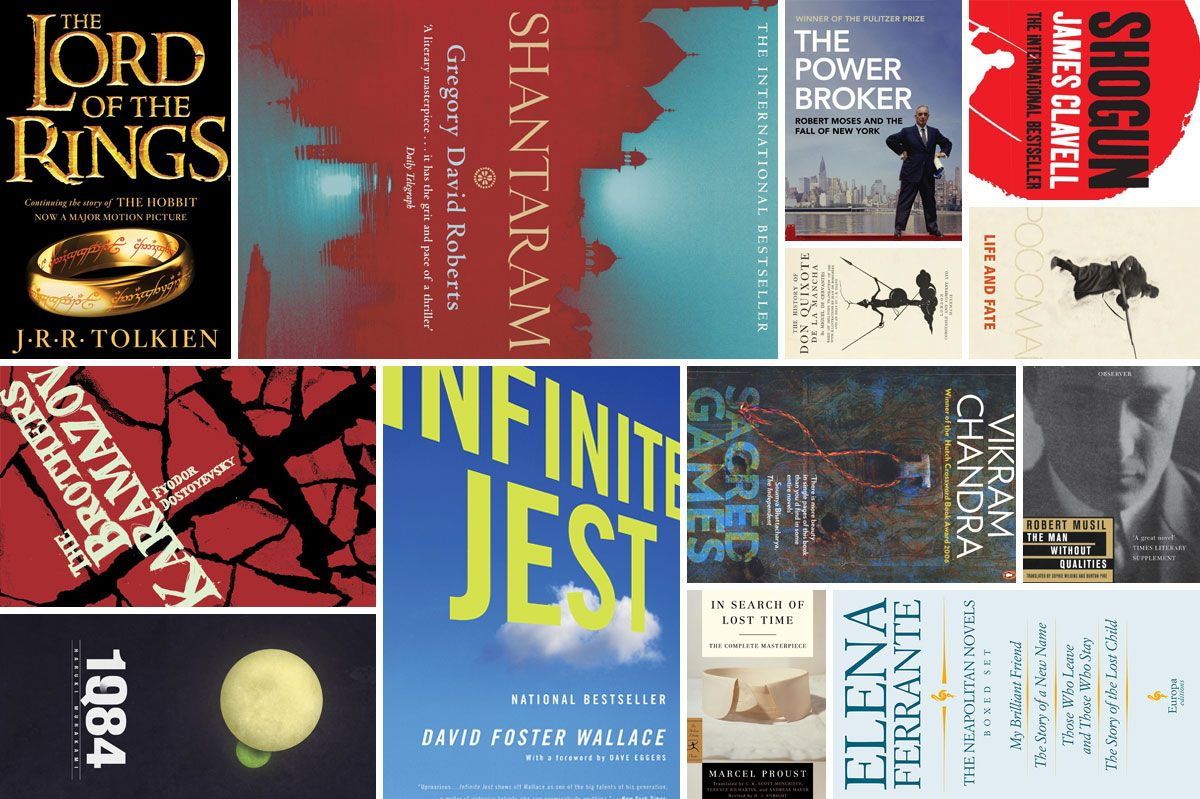 26 Very Long Books Worth the Time They'll Take to Read