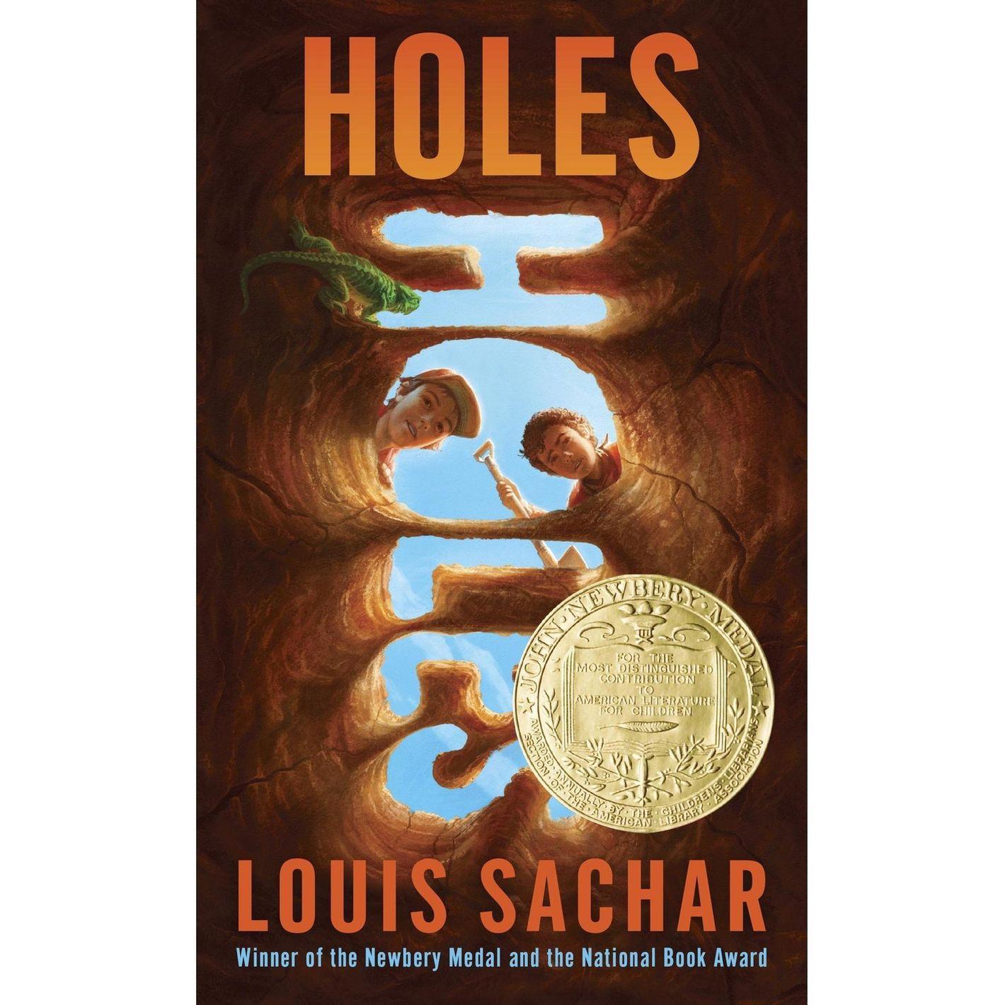 <em>Holes </em>by Louis Sachar