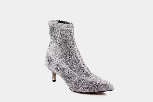 Rebecca Minkoff Sayres Glittery Sock Boot
