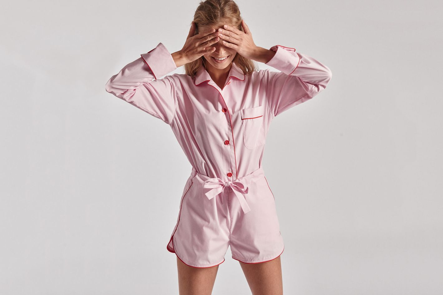 f17262439b77 The Fashion Girl Pajama Set. Donut Pink Pajama Set with Shorts