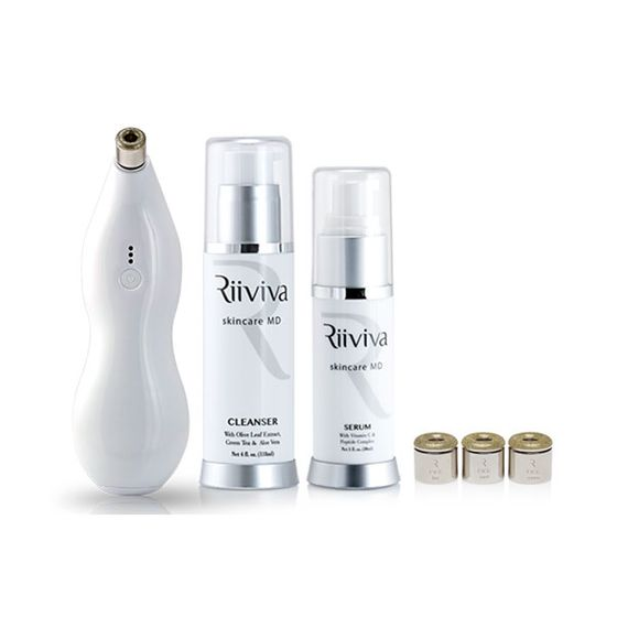 "This is the first-ever diamond tip microdermabrasion device for home use. It comes with multiple tips for all your exfoliation needs, plus a suction gizmo to suck up all the dead skin cells. <i>Riiviva Microderm, <a href=""http://www.riiviva.com/store/item/3/riiviva-microderm"">$299</a></i>"