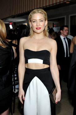 Kate Hudson's junk food is not like yours.