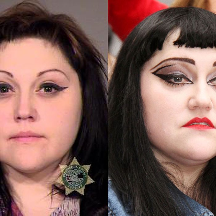 On Beth Ditto S Beautiful Mug Shot