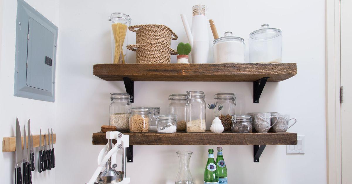 13 Easy Small-Kitchen Ideas Under $100 - 2018  Honey Oak Cabinets Kitchen Ideas Html on