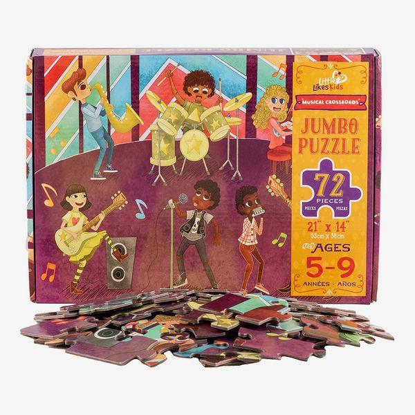 Little Likes Kids Musical Crossroads 72 Piece Jumbo Puzzle