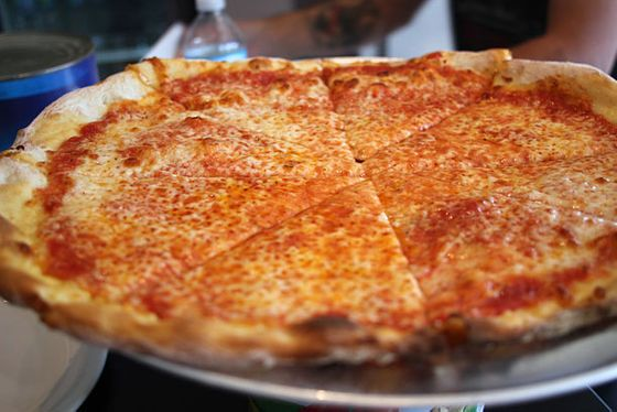 "<b>Cheese Pie</b>    <a href=""http://chicago.menupages.com/restaurants/armitage-pizzeria"">Armitage</a>    <i>Chicago</i>  Coalfire's Spillane is also behind this newish spot, which is much more casual than Coalfire. There's no fancy, artisanal cheese; just shredded hard mozzarella, ruby red sauce, and thin crust. At $11 a pie, you can swing the cash-only requirement."