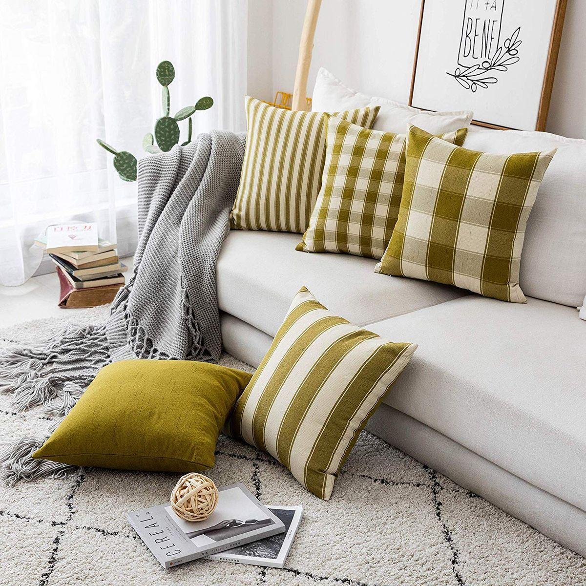 23 Best Throw Pillows On Amazon The Strategist New York Magazine