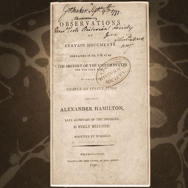 Read the Actual Reynolds Pamphlet From Hamilton