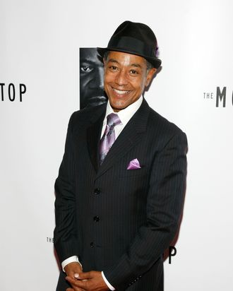 NEW YORK, NY - OCTOBER 13: Giancarlo Esposito attends an after party for the Broadway opening night of