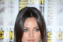 "Actress Mila Kunis attends Walt Disney Studios: ""Frankenweenie,"" ""Wreck It Ralph"" and ""Oz"" during Comic-Con International 2012 held at the Hilton San Diego Bayfront Hotel on July 13, 2012 in San Diego, California"