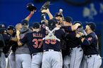 ALCS - Cleveland Indians v Toronto Blue Jays - Game Five