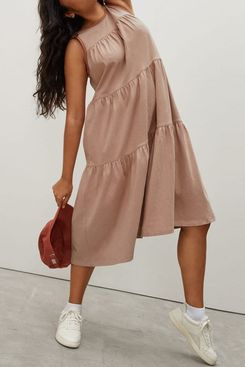 Everlane The Weekend Tiered Dress