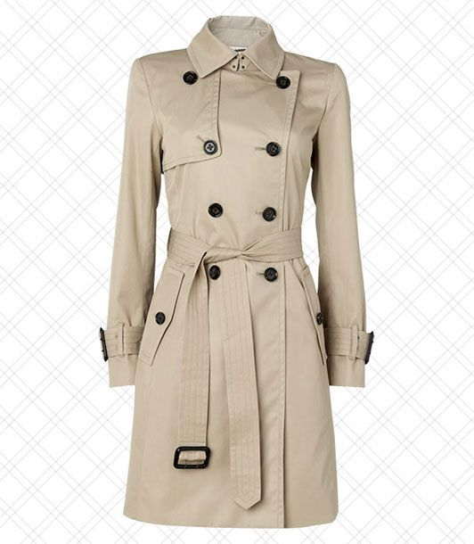 "Actually, everyone should own a trench coat, regardless of what look they're going for.   <i>$139.99 at <a href=""http://bananarepublic.gap.com/browse/product.do?cid=40924&vid=0&pid=423437"">Banana Republic</a></i>"