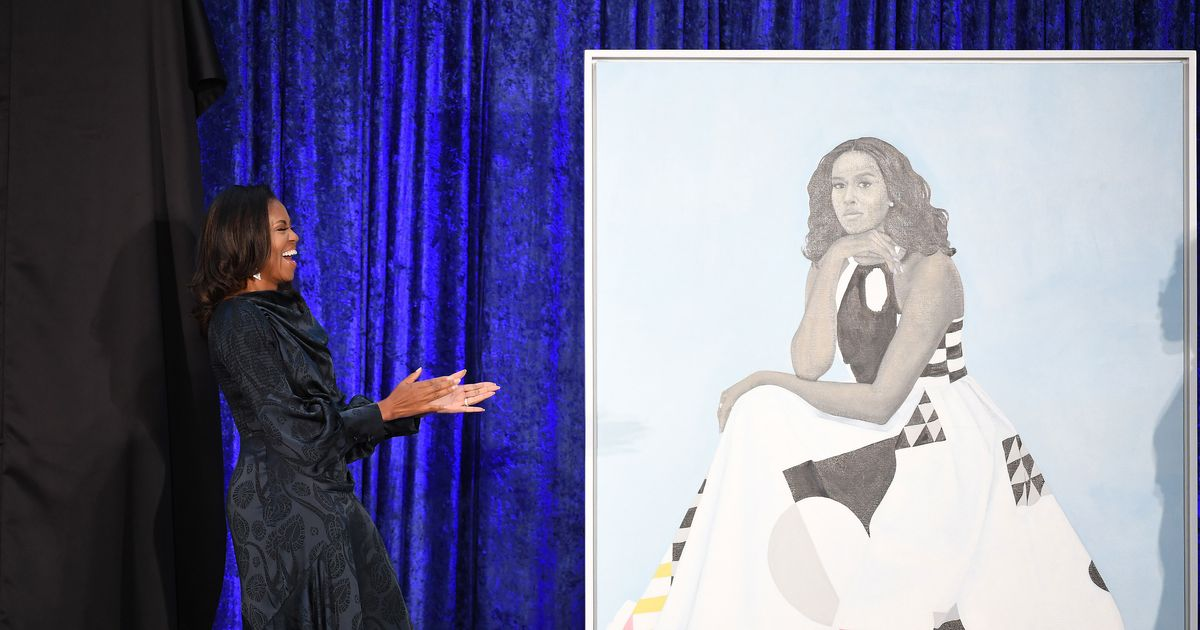 Michelle Obama's Portrait Is So Popular, the Museum Moved It to a Bigger Room