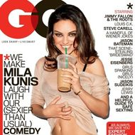 Mila Kunis on this month's GQ.