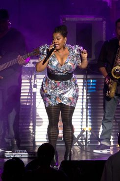 CLARKSTON, MI - JULY 30:  Jill Scott performs at DTE Energy Center on July 30, 2011 in Clarkston, Michigan.  (Photo by Scott Legato/Getty Images)