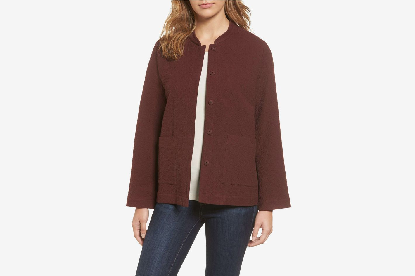 Eileen Fisher Organic Cotton Jacket