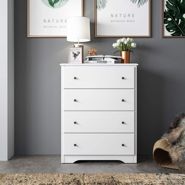 Homecho Dresser With 4 Drawers