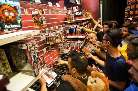 "Inside The ""Star Wars: Force Awakens"" Event And Product Debut At The Times Square Toys R Us Inc. Store"