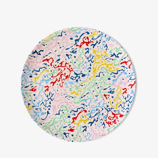 Xenia Taler Design Carwash Plate, Set of 4