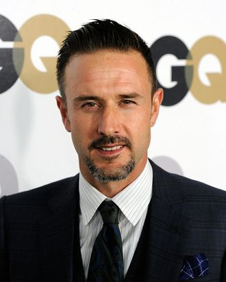 LOS ANGELES, CA - NOVEMBER 17: Actor David Arquette arrives at the 16th Annual GQ