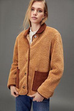 Virginia Sherpa Shirt-Jacket