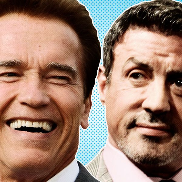 Schwarzenegger Vs Stallone A Timeline