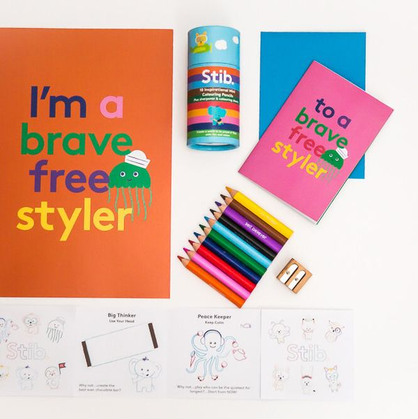 Brave Freestyler Mini Travel Pencil Gift Pack