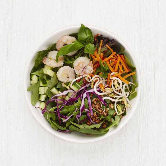 Salad supremacy.