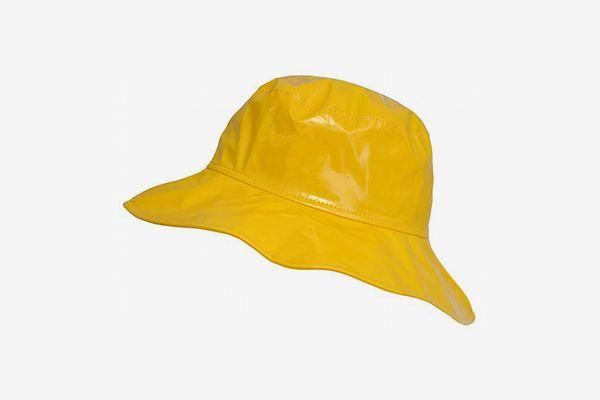 Toutacoo Wide-Brimmed Vinyl Rain Hat